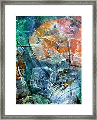 Abstract #326 - Happy Hour Framed Print