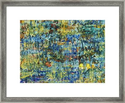 Abstract #329 Framed Print