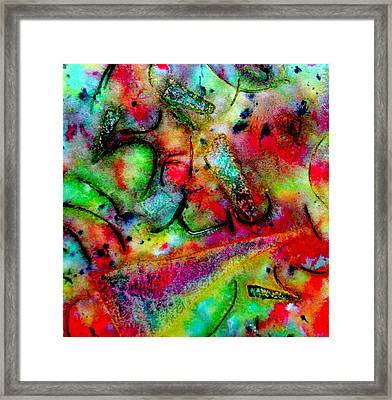 Abstract 37 Framed Print by John  Nolan