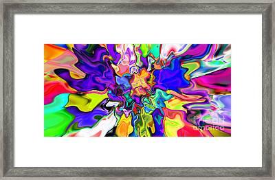 Abstract 370 Framed Print by Rolf Bertram