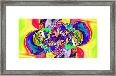Abstract 371 Framed Print by Rolf Bertram