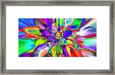 Abstract 376 Framed Print by Rolf Bertram