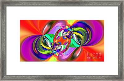 Abstract 380 Framed Print by Rolf Bertram