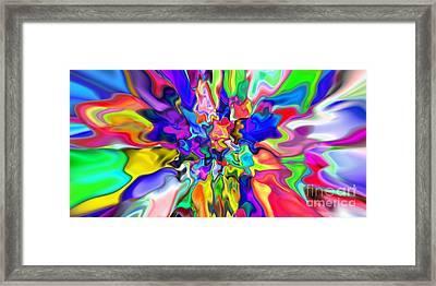 Abstract 382 Framed Print by Rolf Bertram