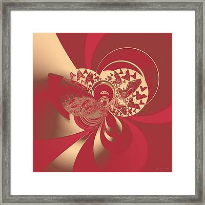 Abstract 384 Framed Print