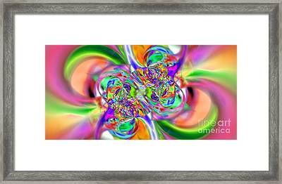 Abstract 386 Framed Print by Rolf Bertram