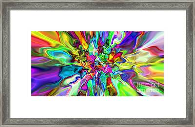 Abstract 394 Framed Print by Rolf Bertram