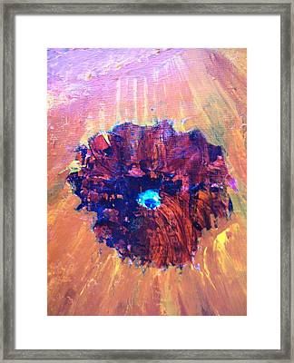 Abstract 4 Framed Print by Roy Penny