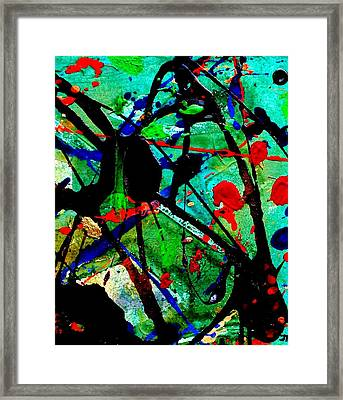 Abstract 40 Framed Print by John  Nolan