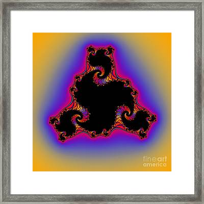 Abstract 42 Framed Print by Rolf Bertram