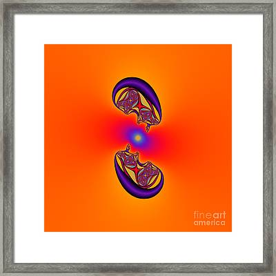 Abstract 47 Framed Print by Rolf Bertram