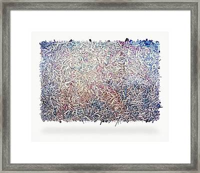 Abstract 5 Framed Print by Scott Norris