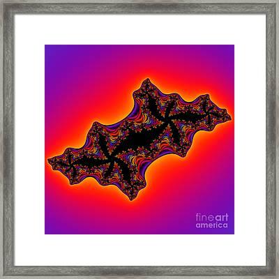 Abstract 50 Framed Print by Rolf Bertram
