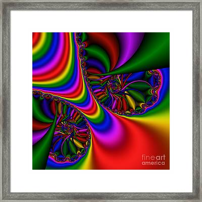 Abstract 502 Framed Print by Rolf Bertram