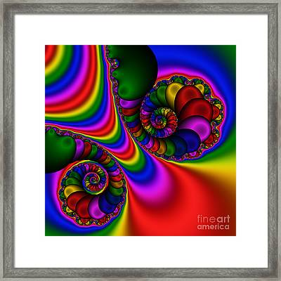 Abstract 504 Framed Print by Rolf Bertram