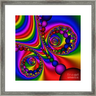Abstract 505 Framed Print by Rolf Bertram