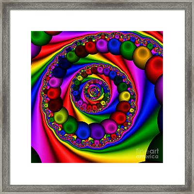 Abstract 507 Framed Print by Rolf Bertram