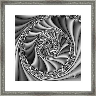 Abstract 508 Bw Framed Print by Rolf Bertram