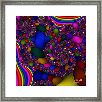 Abstract 509 Framed Print by Rolf Bertram