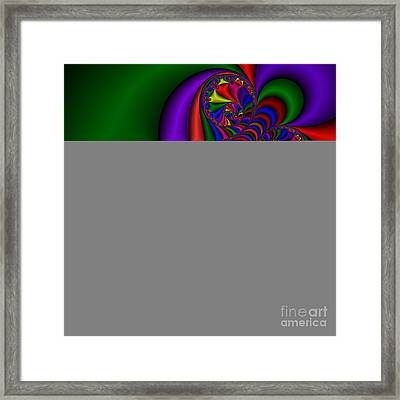 Abstract 510 Framed Print by Rolf Bertram