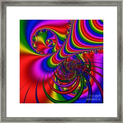 Abstract 512 Framed Print by Rolf Bertram