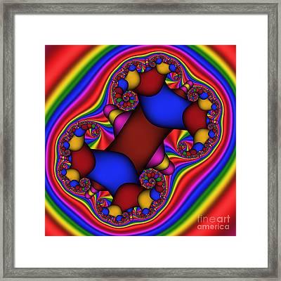 Abstract 514 Framed Print by Rolf Bertram