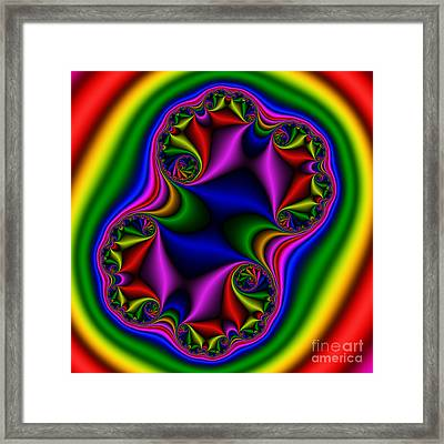 Abstract 517 Framed Print by Rolf Bertram