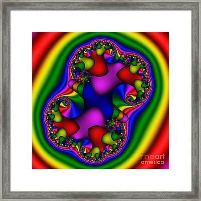 Abstract 518 Framed Print by Rolf Bertram