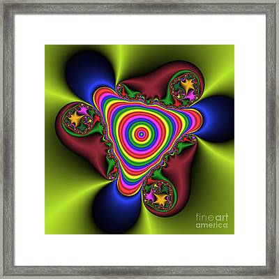 Abstract 520 Framed Print by Rolf Bertram