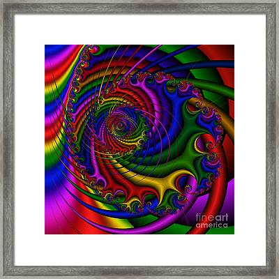 Abstract 522 Framed Print by Rolf Bertram