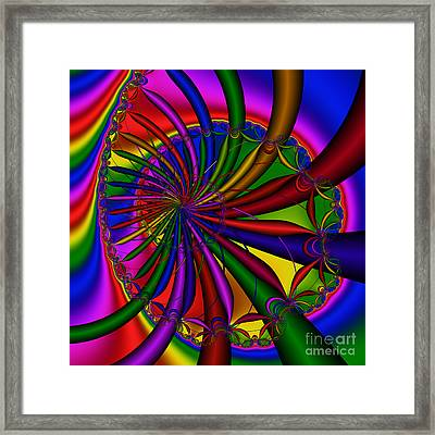 Abstract 525 Framed Print by Rolf Bertram