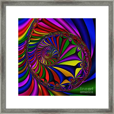 Abstract 527 Framed Print by Rolf Bertram