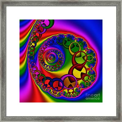 Abstract 528 Framed Print by Rolf Bertram