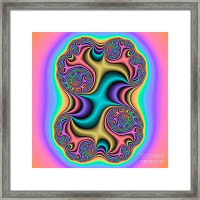 Abstract 53 Framed Print by Rolf Bertram