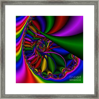 Abstract 530 Framed Print by Rolf Bertram