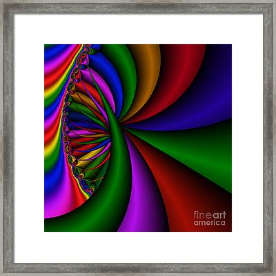 Abstract 531 Framed Print by Rolf Bertram