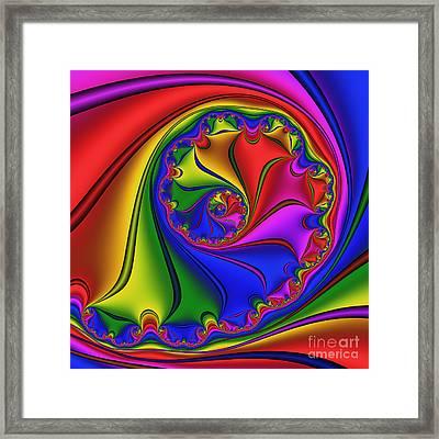 Abstract 534 Framed Print by Rolf Bertram