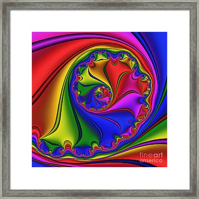 Abstract 535 Framed Print by Rolf Bertram