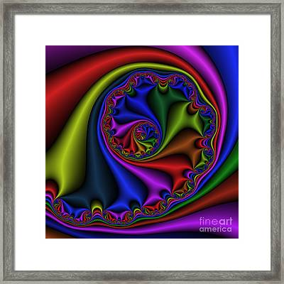 Abstract 536 Framed Print by Rolf Bertram