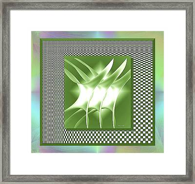 Abstract 54 Framed Print by Iris Gelbart