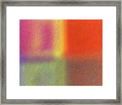 Abstract 5791 Framed Print