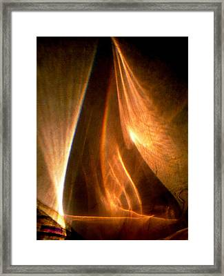 Abstract 598 Framed Print