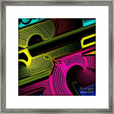 Abstract 6-21-09 Framed Print by David Lane