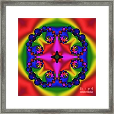 Abstract 600 Framed Print by Rolf Bertram