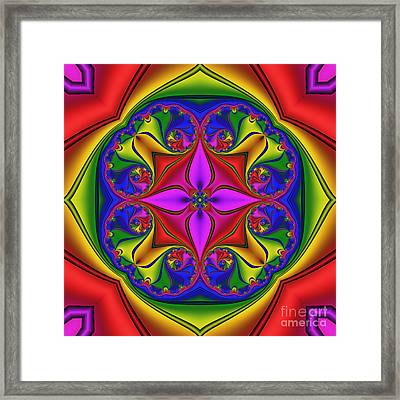 Abstract 603 Framed Print by Rolf Bertram