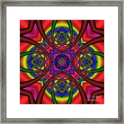 Abstract 604 Framed Print by Rolf Bertram