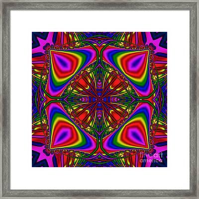 Abstract 605 Framed Print by Rolf Bertram