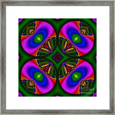 Abstract 606 Framed Print by Rolf Bertram