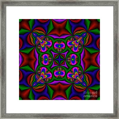 Abstract 608 Framed Print by Rolf Bertram