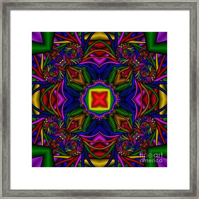 Abstract 611 Framed Print by Rolf Bertram